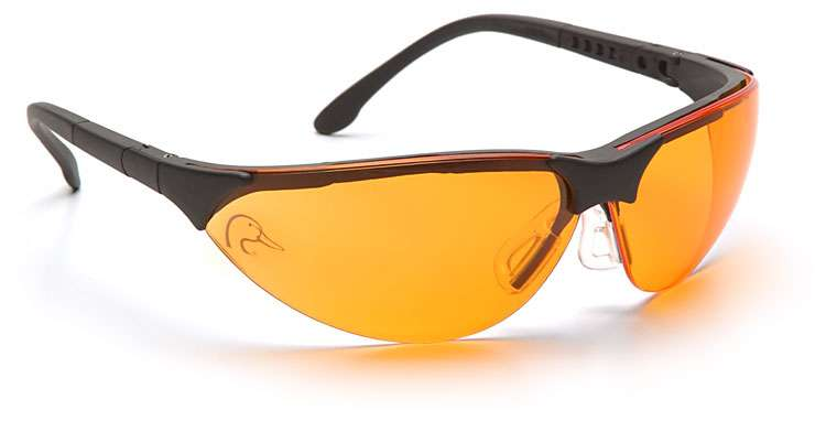Ducks Unlimited Shooting Glasses with Orange Lens